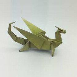 Dragons Creativite Paper Origami